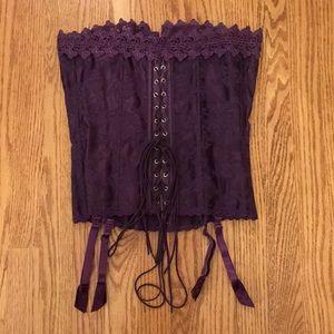 Frederick's Purple Corset